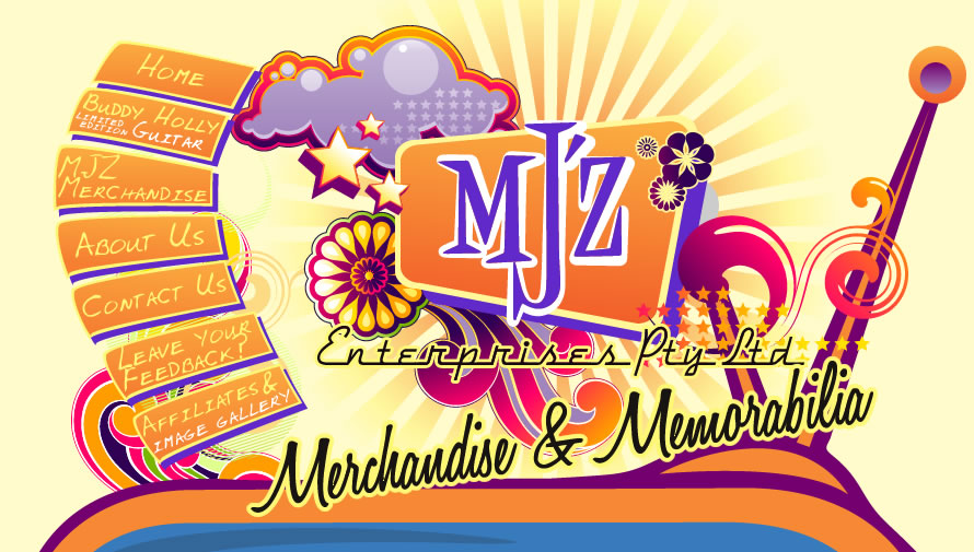 MJ'Z ENTERPRISES, Merchandise & memorabilia
