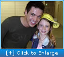 Rebecca meets Australian Idol's Anthony callea
