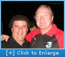 Mario met with AFL Legend coach Kevin Sheedy
